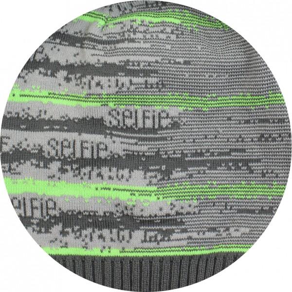 Серый + св. серый + зеленый кислотный - Фото