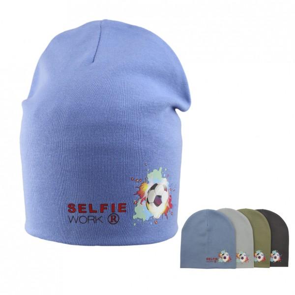 Шапка детская SELFIE CZm LPT BALL 220403 H2 (двойной трикотаж)  - Фото