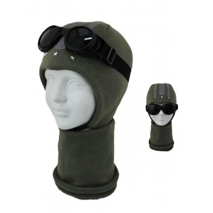 Комплект детский SELFIE KPL2m0 TOP GUN 420423 ACR-SHH (SHELTER)+(снуд двойной) - Фото
