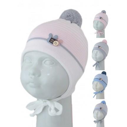 Шапка детская SELFIE CZmd 1 TWOBUNNY 420433 ACR-Н (на подкладке) U - Фото