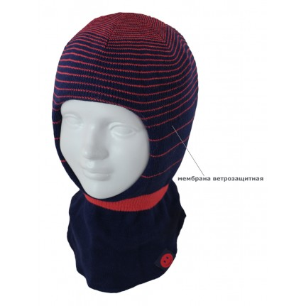 Шапка-шлем детская SMILE 17231 1m-HELMET (SHELTER) - Фото