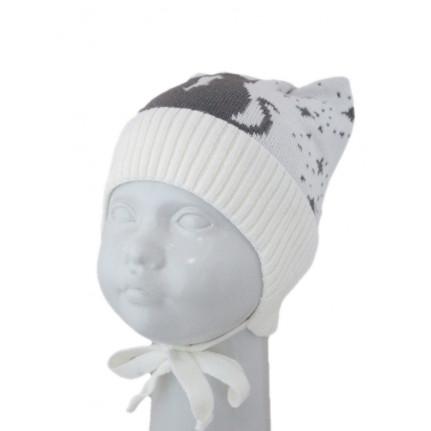 Шапка детская SELFIE 18110 WH-26 (на подкладке) [46-48] - Фото