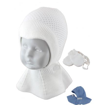 Шапка-шлем детская SELFIE KPL3md 0 LOLLIY 420486 ACR-H (на хлопковой подкладке)+(царапки) - Фото