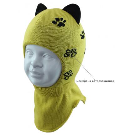 Шапка-шлем детская SMILE SHLm0 420475 LAPKI2020 (SHELTER) - Фото